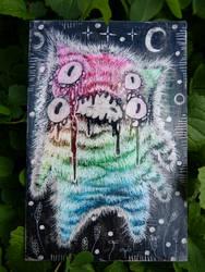 rainbow monster hope screams
