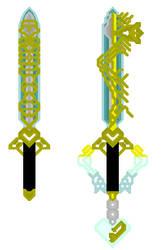 Ultima weapon set by Dragonhero386