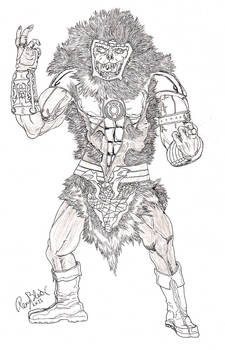 Sinestro Corps Grizzlor