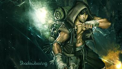 Shadowboxing by Panuniverse