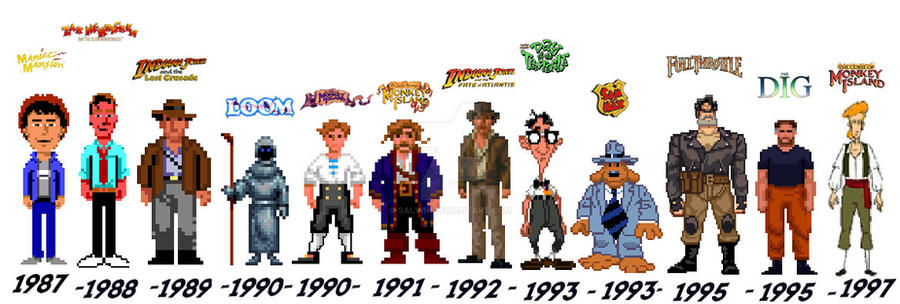 The SCUMM Legacy - Heroes by Salvini
