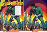 Frankenstein - The lost poster