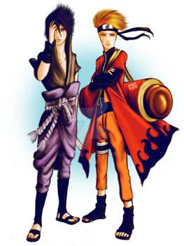 Naruto Fanart 3 w/out bkgd
