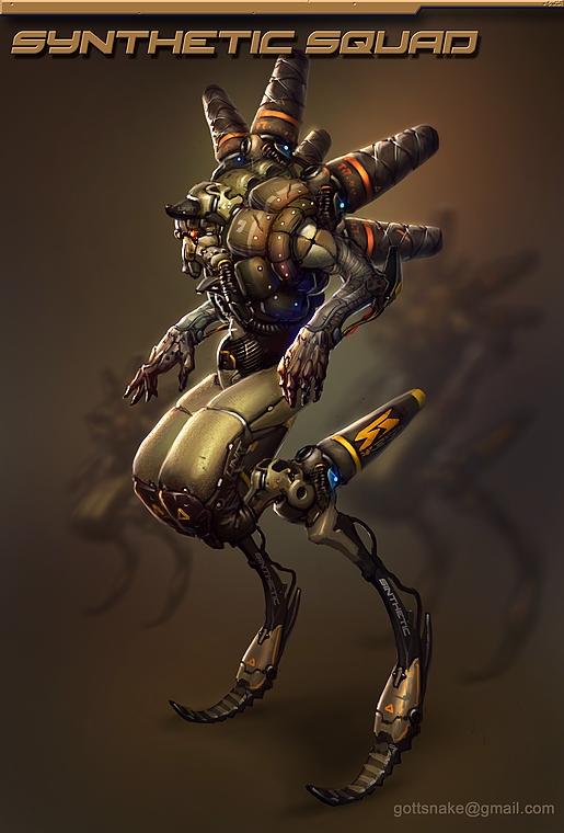 Robot 212 by Gottsnake