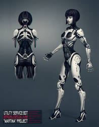 Android girl by Gottsnake