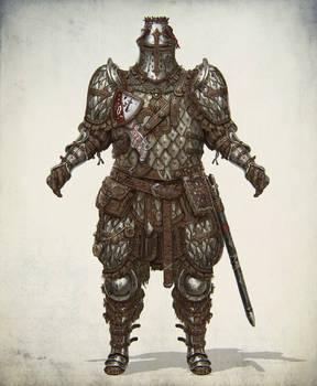 Lamellar heavy knight