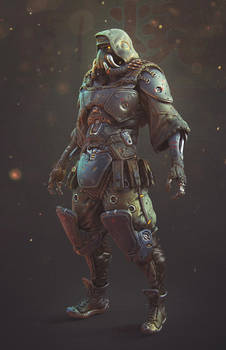 Alien #4 COLORed