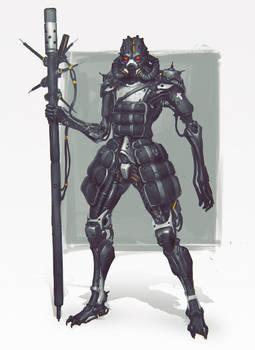 Random Robot Sketch 023