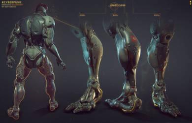 Cyber-punk Legs by Gottsnake