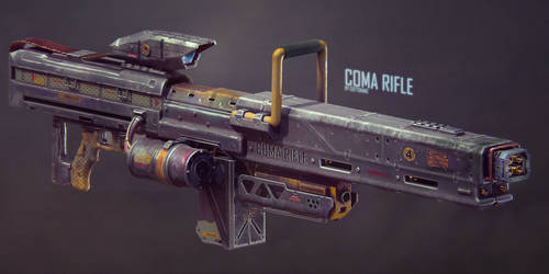 COMA Heavy Rifle Concept (for robots) by Gottsnake