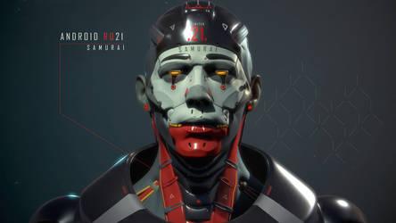 android RQ21 Samurai by Gottsnake