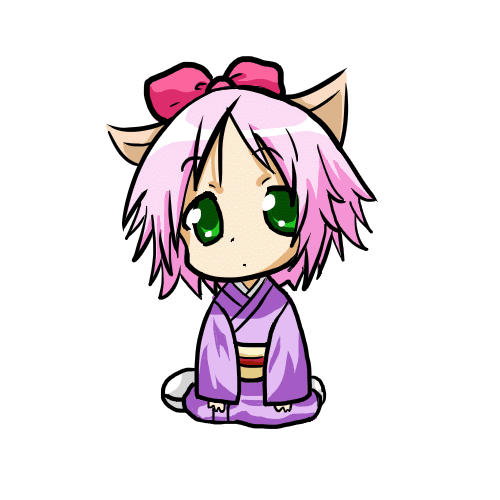 cat, chibi, neko, girl, manga, japan | Inspiration ...  |Chibi Anime Neko Girl