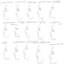 Female Expression Profile pak 1 by Art-Gem
