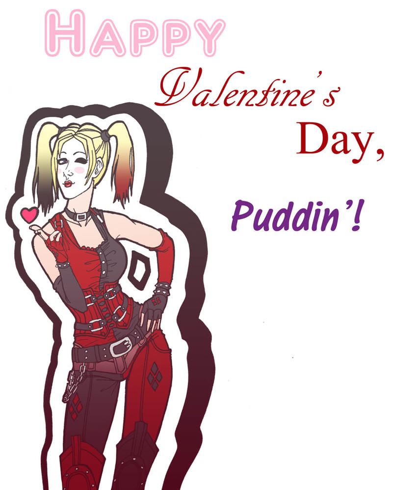 Harley Valentine by Art-Gem