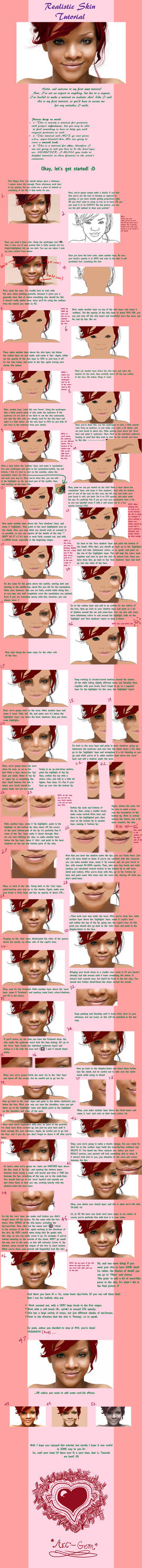Realistic Skin Tutorial by Art-Gem