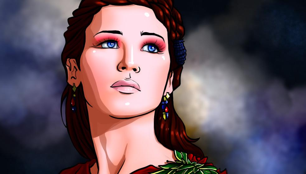 Katniss Everdeen: Catching Fire by Art-Gem on DeviantArt