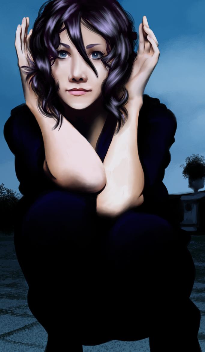 Realistic Rukia Kuchiki by Art-Gem