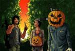 A Caryl Halloween by Art-Gem