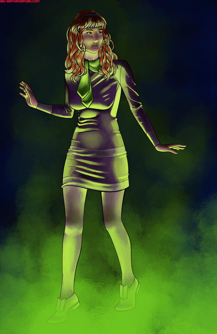 Jennifer Lawrence as Daphne request by Art-Gem