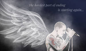 RIP Chester Bennington by Art-Gem