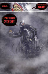 Batman/Hellraiser crossover comic pg 2