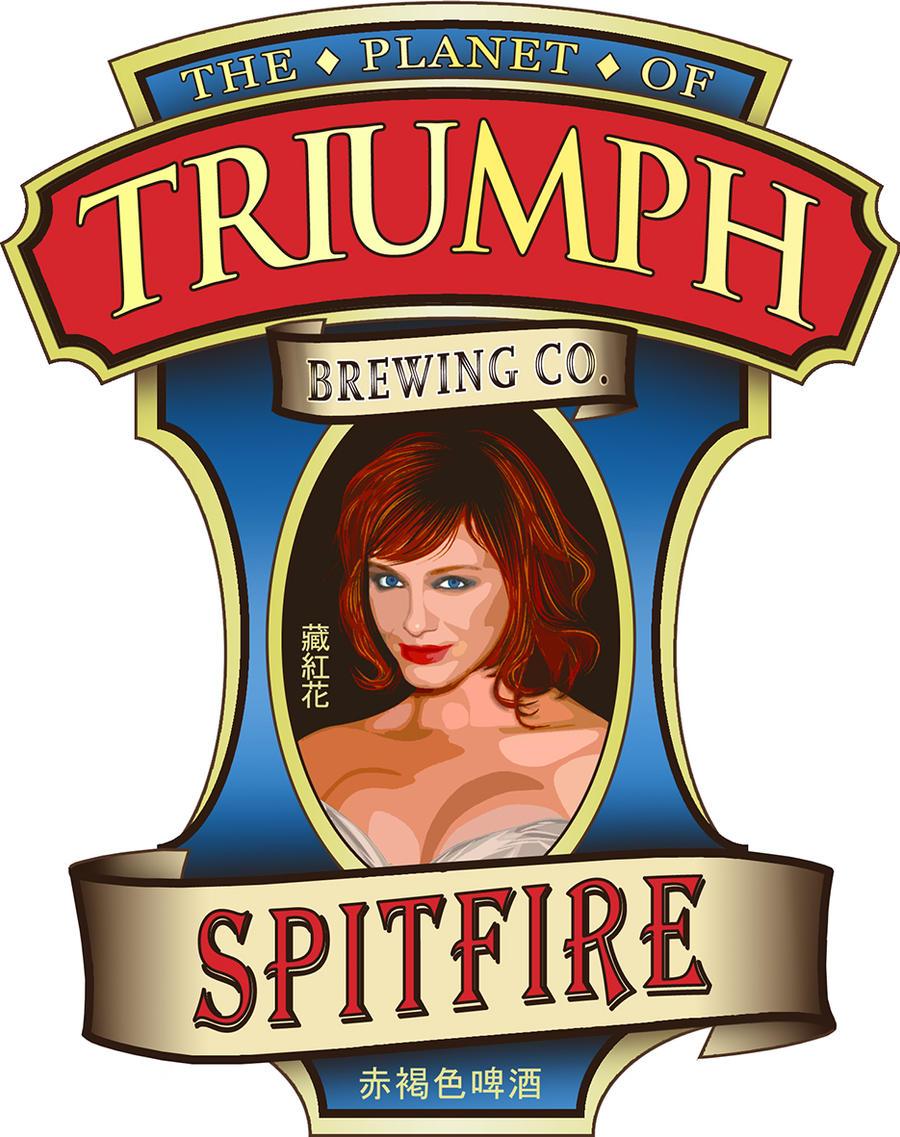Spitfire Ale Label by Planetspectra