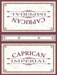 Caprican Imperials Cigar Box by Planetspectra