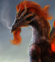 Dragonbeard... Red Dragonbeard... by Brollonks