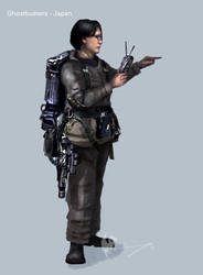Ghostbusters - Japan Conceptart 02 by Brollonks