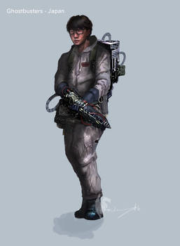 Ghostbusters - Japan Conceptart 04