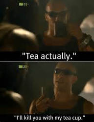 death by tea cup