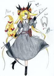 (Archanes MYO) Alice by GhostiTrash