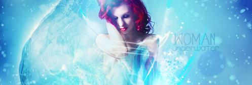 underwater woman signature by MantoiArtGFX