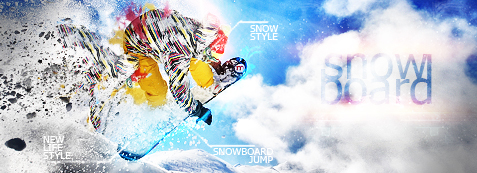 SNOWBOARD Signature by MantoiArtGFX