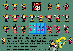 Power Suit Roll Sprite Sheet (part 2) by Midday-Mew