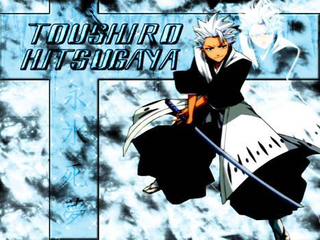 Toushiro Hitsugaya Background by littiot