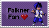 Falkner Stamp by littiot