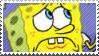 Sad Sponge Stamp by littiot