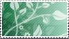 Green Garden Stamp by littiot