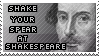 Shake You Spear at Shakespeare by littiot