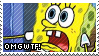 Sponge Bob OMGWTF Stamp by littiot