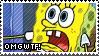 Sponge Bob OMGWTF Stamp by littiot