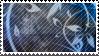 Dark Blue Vines Stamp by littiot