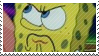 Angry Spongebob Stamp by littiot