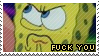 F--- You Spongebob Stamp by littiot