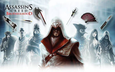 Assassin's Creed: Brotherhood by Murcuseo