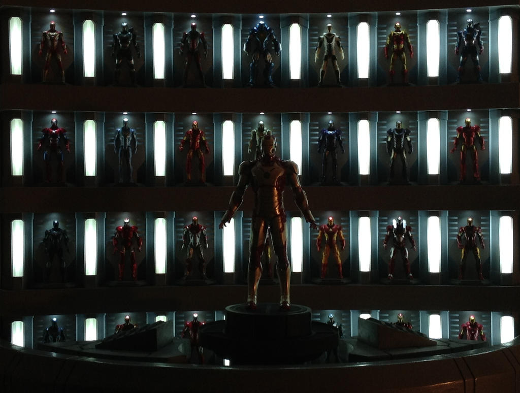 Iron Man Hall Of Armor 63