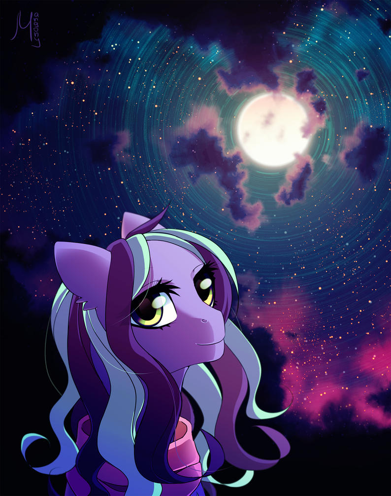 Sound of the moon by Margony