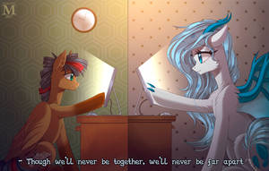 Far from each other by Margony