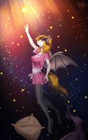 My lucky star by Margony